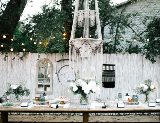 boho decor party
