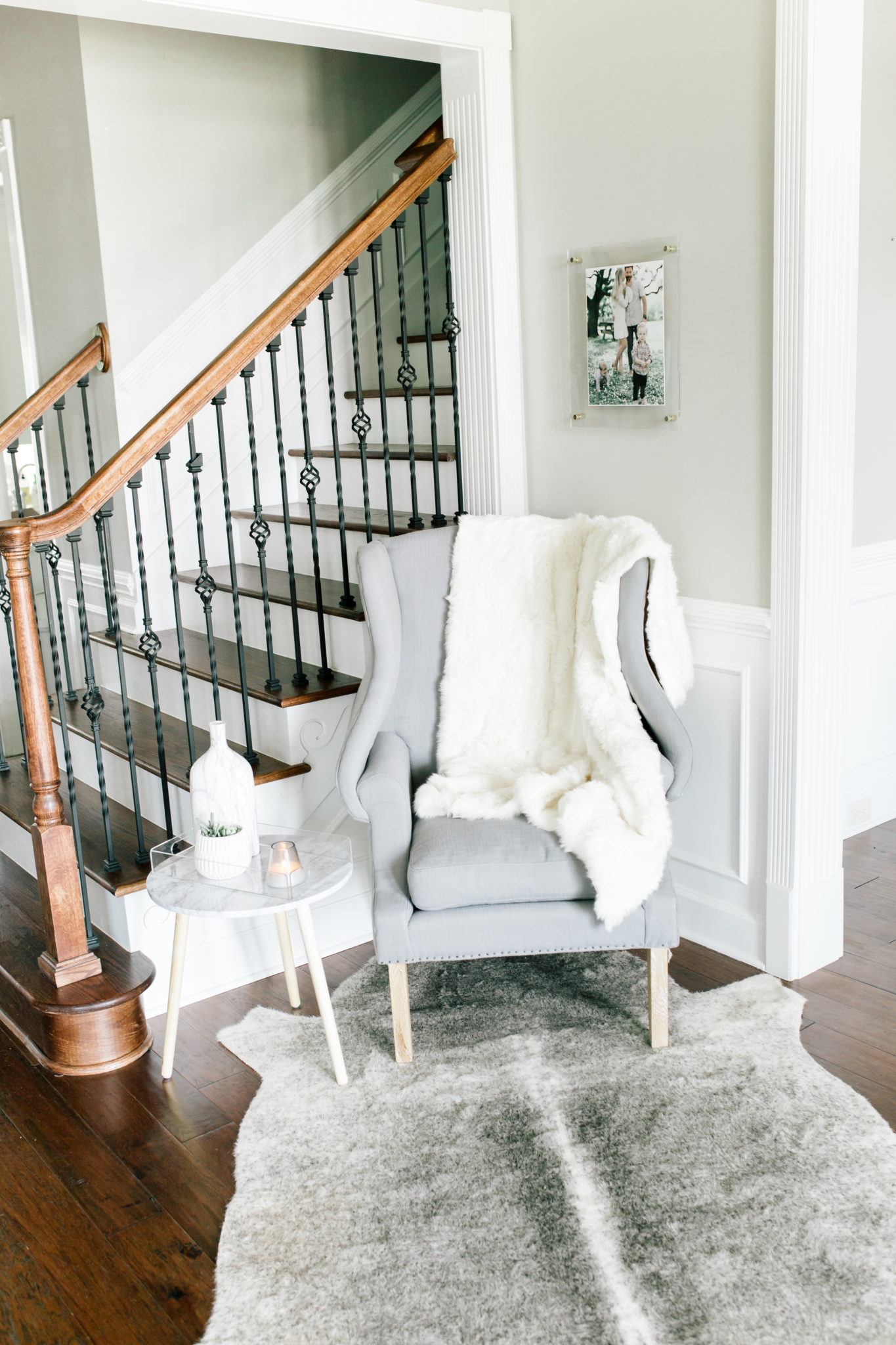 Home Decor - Entryway with Hudson Valley Lighting - Beaus ...