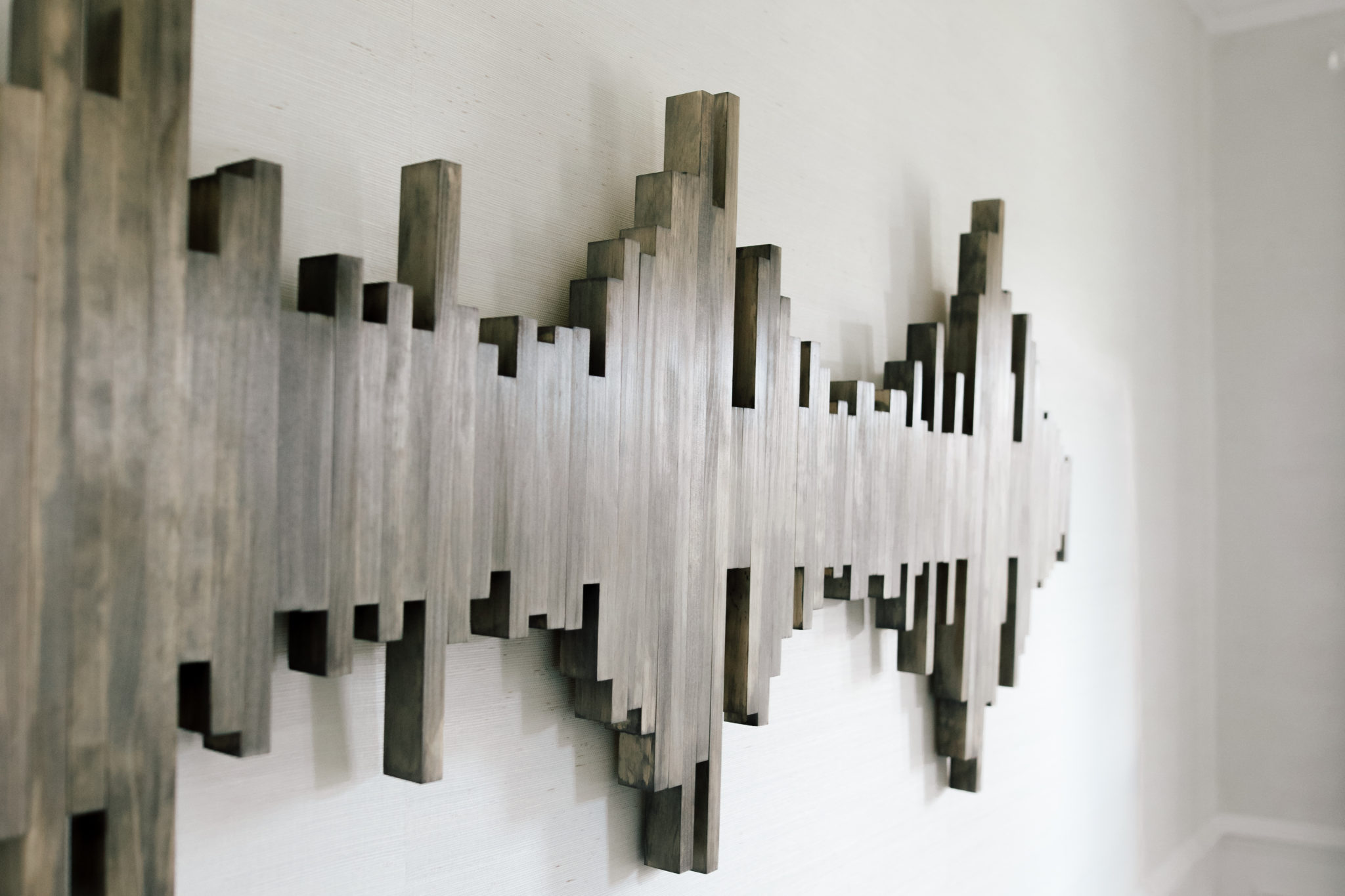 sound wave wall art