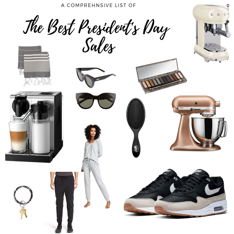 best president's day sales