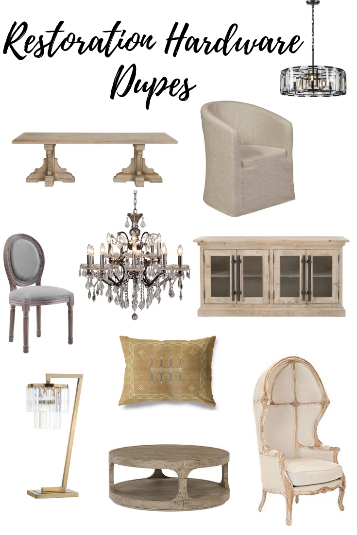 Strange Restoration Hardware Look Alike Items For Less Beaus And Download Free Architecture Designs Terchretrmadebymaigaardcom