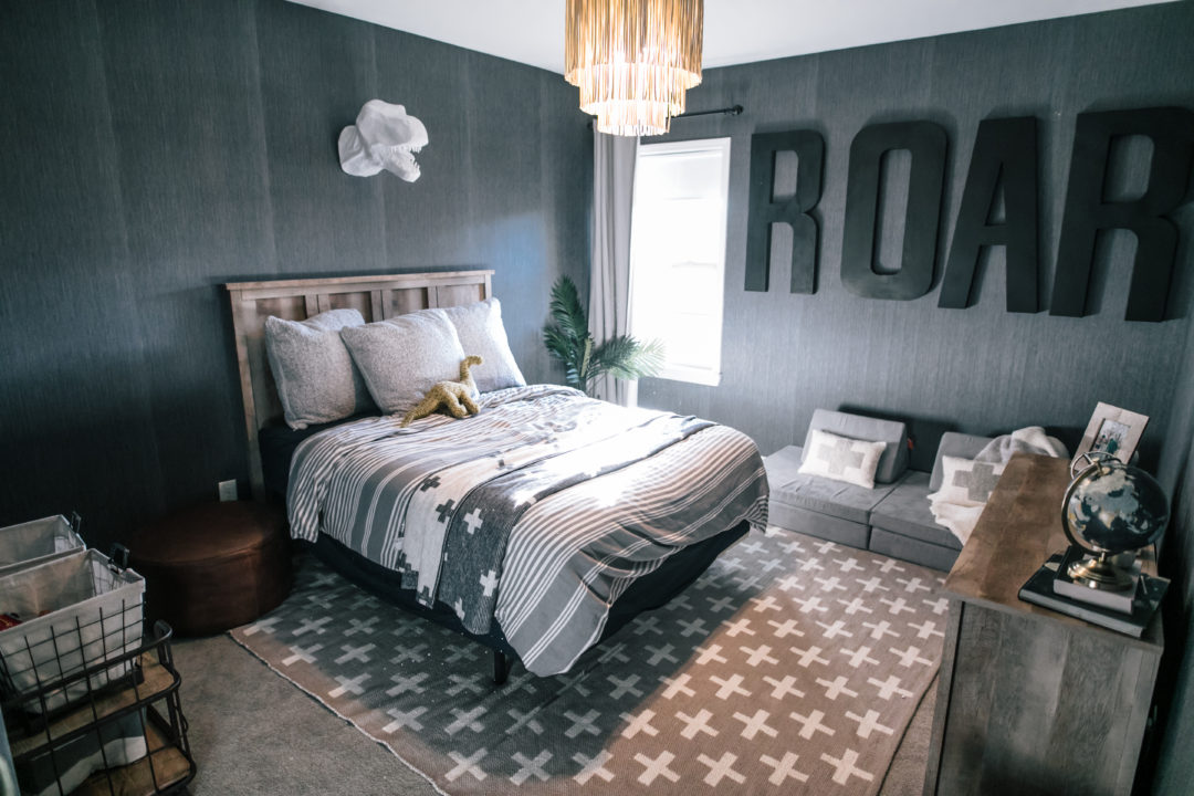 Georgie S Dinosaur Themed Bedroom Reveal Beaus And Ashley