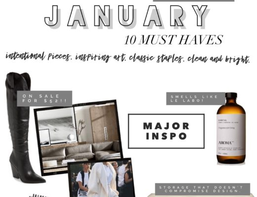 January Must Haves
