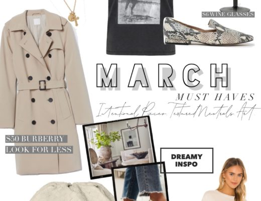 March Must Haves