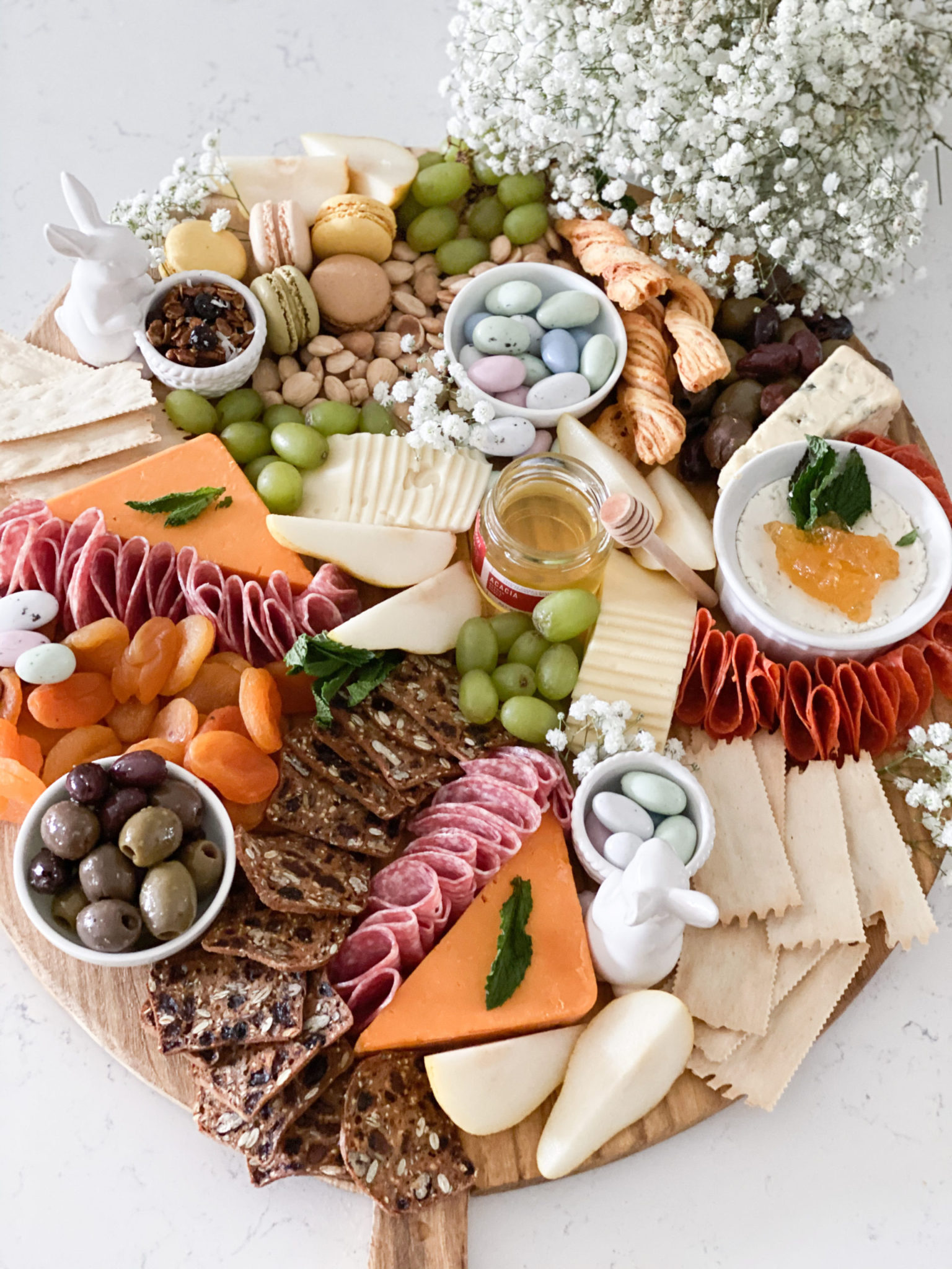 Easter Charcuterie board