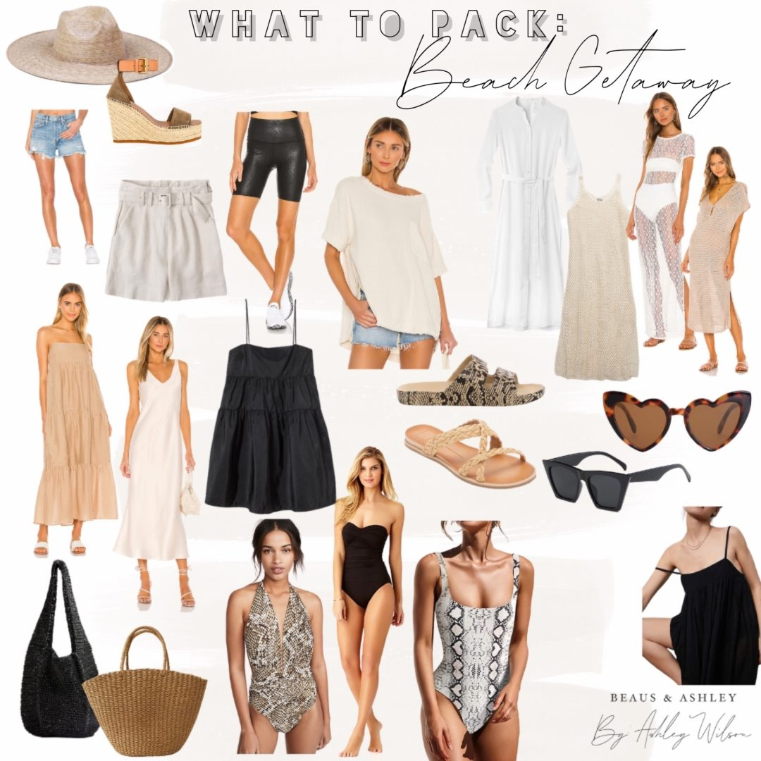 what to pack for beach vaca