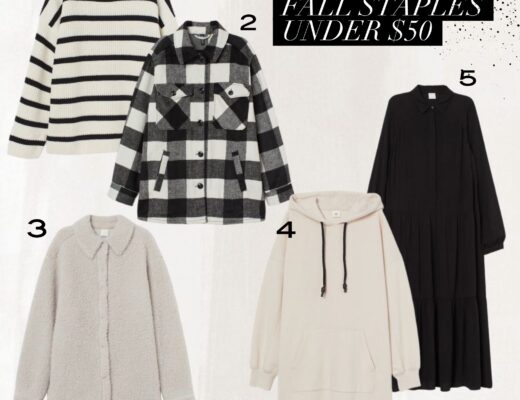 fall finds under $50