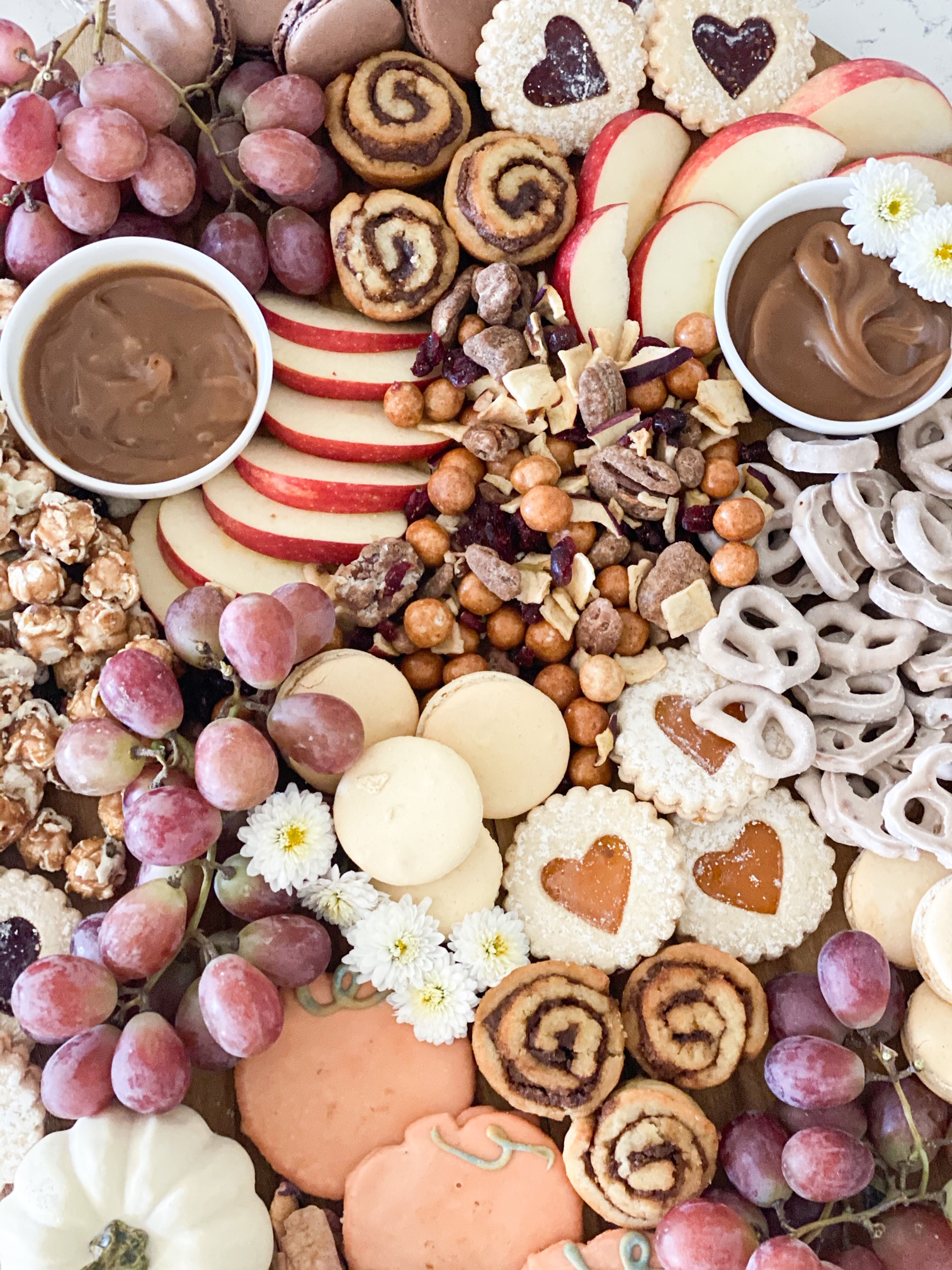 fall dessert charcuterie board