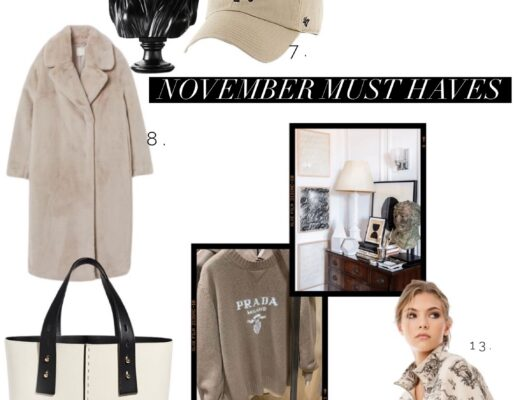 november must haves